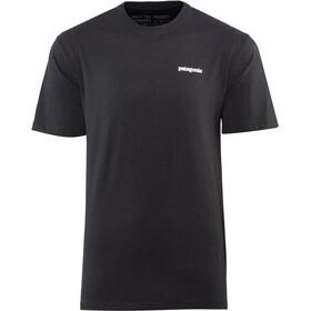 Patagonia P-6 Logo Bluzka z krótkim rękawem Mężczyźni, black
